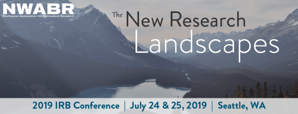 2019 RESEARCH COMMUNITY FORUM AND IRB CONFERENCE - July 24